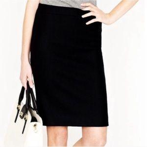 NWT J. Crew Wool Blend Pencil Skirt size 14